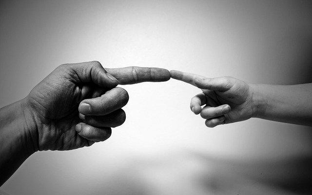 Finger und gott
